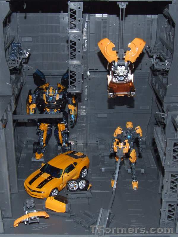 Bases com Trans-Scanning Bumblebee