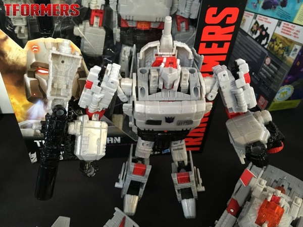 SDCC 2016 - Hasbro Breakfast Event Generations Titans Return Gallery With Megatron, Gnaw, Sawback, Liokaiser, & More! #SDCC2016