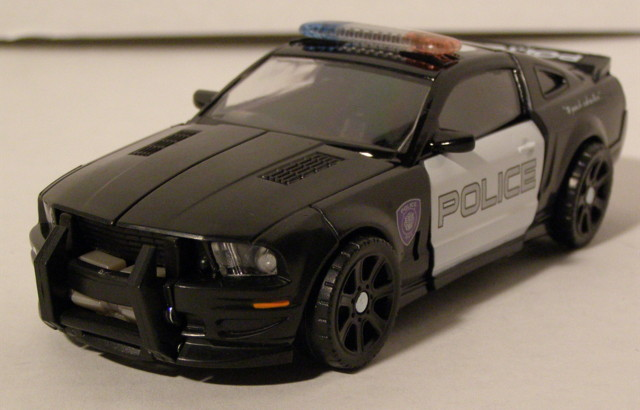 Deluxe Barricade Movie Figure Review Transformers News