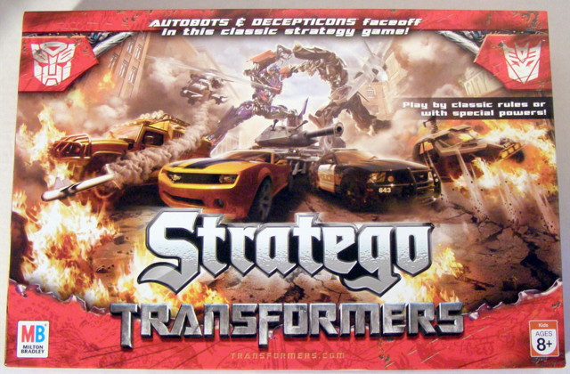 stratego movie board game review transformers news reviews movies